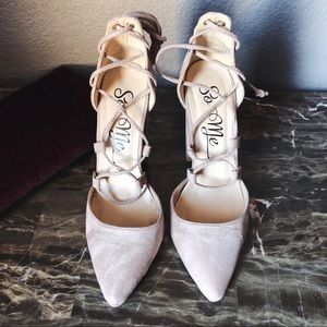 Miss Lola Block Heels